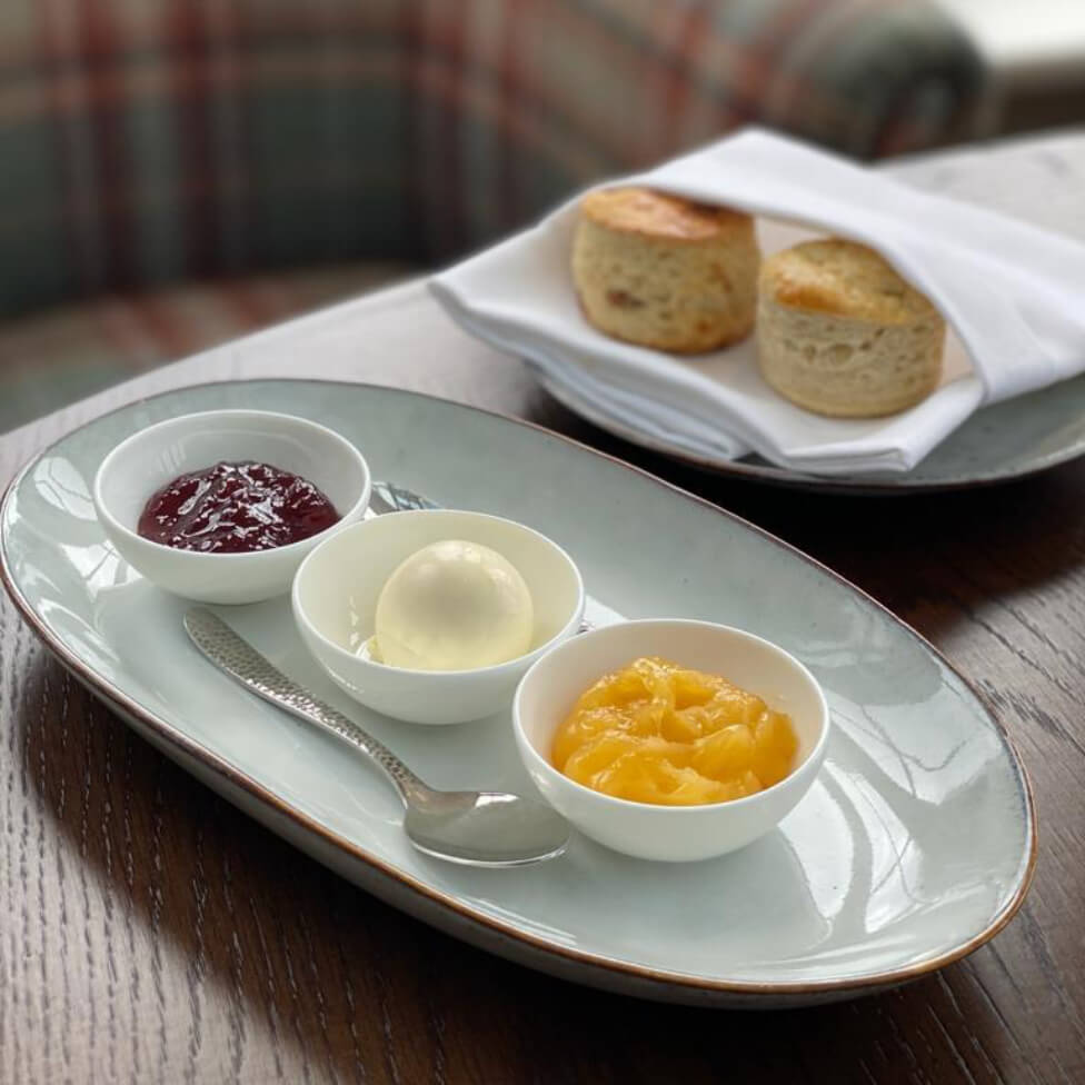 Simon Rogan's Scone Recipe - straight from the Afternoon Tea offering at Linthwaite House image