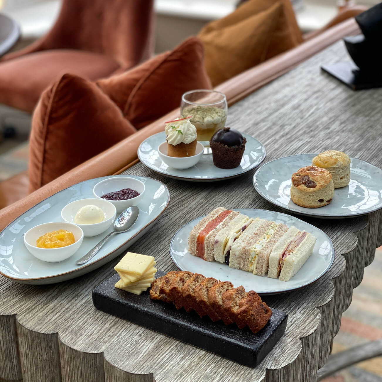 Celebrating the British tradition of 'Afternoon Tea' image