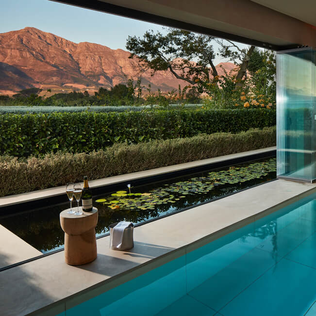 Leeu Estates – Leeu Spa by Healing Earth - Plunge Pool