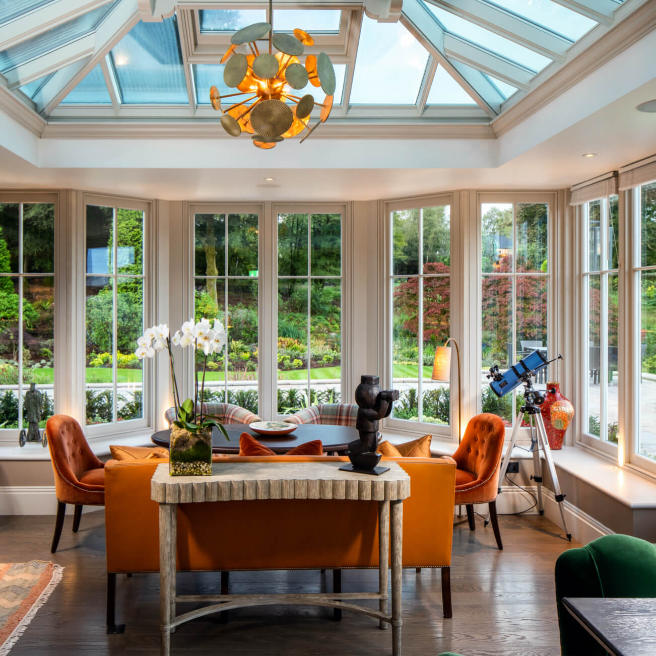 Linthwaite House - The Bar & Conservatory